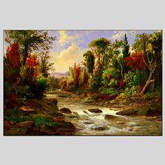 【今だけ☆送料無料】 アートパネル  自然・風景画1枚で1セット 自然 河原 河川敷 風景【納期】お取り寄せ2~3週間前後で発送予定