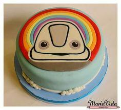 Topa en Jr Express Cake! DISNEY Junior Express, Cakes For Boys, Cakepops, Birthday Cake, Cupcakes, Desserts, Food, Home, Pastries