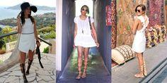 How to Wear KneeHigh Gladiators Sandals This Summer Gladiator Sandals Outfit, Gladiators, Trendy Taste, Birkenstock Style, Spring 2015 Fashion, Dressy Attire, Wearing Black, Fashion Looks, Glamour