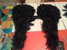 Como hacer unas alas de angel de plumas tipo Victoria's Secret carnaval