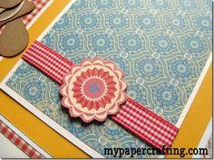 Cute Cricut Ant Paper Piecings
