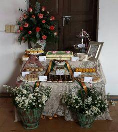 Vintage Dessert Table 80´s Birthday