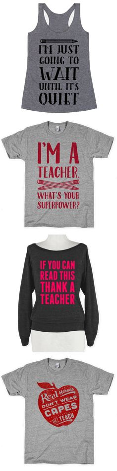 If teaching is your super power, these shirts challenging those who stand against knowledge are perfect for you.