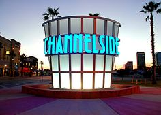 Channelside is home to shops, restaraunts, and entertainment including a bowling alley, IMAX Movie theatre, and live music