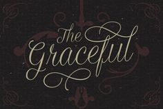 Graceful ~ Script Fonts on Creative Market