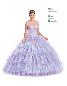 organza glamous ballkole quinceanera kjoler