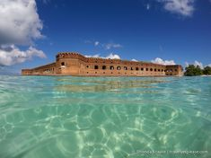 Dry Tortugas National Park was the place I was most looking forward to visiting during our trip to Florida. I first discovered it in a photograph. It was an aerial picture, giving a bird's eye view of the six-sided historic Fort Jefferson, so large that it nearly filled the entire island. I was…