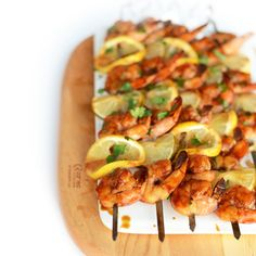 These Lemon Lime Asian Shrimp Kebabs are the perfect appetizer for a summer BBQ! Shrimp is one of my favorite things to make on the grill. Not only are they yummicious, but they only take a few min...