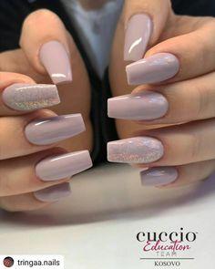 36 Wedding Nail Art For Brides Ideas bridalnails; Cute Acrylic Nails, Acrylic Nail Designs, Gel Nails, Nail Art Designs, Nails Design, Nail Polish, Nail Manicure, Perfect Nails, Gorgeous Nails