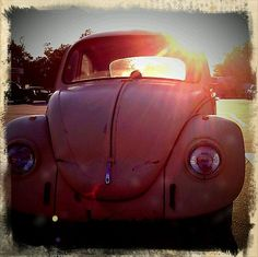 Bubblegum pink Bug. Around the age of 14 my want for this vintage beauty was at an all time high.