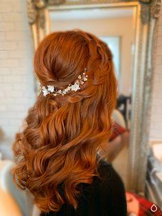 Boho magic with a loose four strand braid Blonde Bridal Hair, Bridal Hair And Makeup, Hair Makeup, Gold Wedding Theme, Wedding Themes, Best Wedding Hairstyles, Up Hairstyles, Four Strand Braids, Luxury Hair