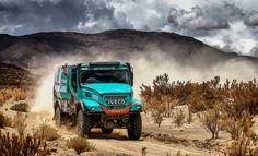 Rally Dakar 2017: De Rooy e Iveco vencem nos Camiões da 4ª Etapa