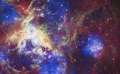 Nasa divulga imagem da nebulosa da Tarântula, localizada a 165 mil anos-luz da Terra.