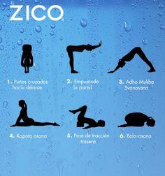 Esta serie de asanas te ayudará a reducir el dolor de espalda. #ZICOEsp #Yoga #Asanas