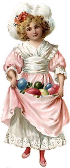 Image result for vintage easter clip art