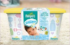 Everything for Baby Sweepstakes Week 2 Prize (2/25-3/3): A Limited Edition Pampers Swaddlers Sensitive Tote filled with Swaddlers Sensitive diapers; Baby wipes, over $30 worth of coupon savings, a changing mat and a picture frame