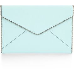 Rebecca Minkoff Leo Clutch (2.715 UYU) ❤ liked on Polyvore featuring bags, handbags, clutches, rebecca minkoff handbags, rebecca minkoff, party purses, blue clutches and blue handbags
