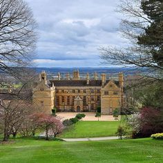 The historic Batsford Arboretum Estate in Gloucestershire, England.