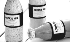 Nicolas Vahé's Cookie Mix | Adorable packaging design for this cookie mix!  ~cam