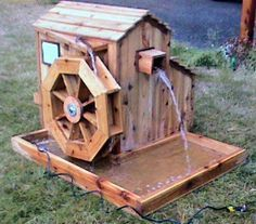 Easy Wood Projects to Do | Since the flow of water is seasonal, dams are made to control the ...