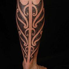 Calf tattoos and designs maori tattoos calf ta Hot Tattoos, Body Art Tattoos, Tribal Tattoos, Maori Tattoos, Tatoos, Polynesian Tattoos, Tattoos For Women Small, Small Tattoos, Tattoos For Guys