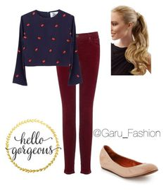 """Sin título #139"" by garufashion0 on Polyvore featuring moda, AG Adriano Goldschmied y Lanvin"
