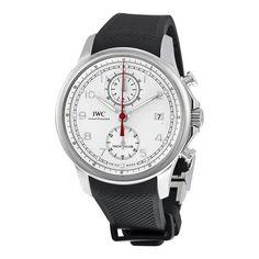 IWC Portugieser Yacht Club White Dial Black Automatic Men's Watch (W-IW390502)