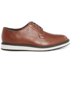 Brown Magnus Derbies with White Gumsole - CAMPER - Derbies CAMPER for men, All Mens Fashion and Clothing is available to buy on Menlook.com - Over 250 brands to discover