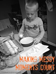 Making Messy Moments Count