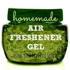 Here's how to make homemade air freshener gel using your favorite scents and none of the unidentified chemicals in the store-bought stuff.