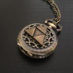 Triforce Pocket Watch - Trendy Gear--accessories - 1