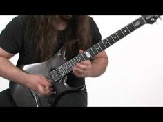 Lick of the Day - John Petrucci - Two-Notes-Per-String Shred - YouTube
