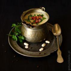 Zupa krem z fasoli