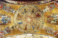 Coppo di Marcovaldo e aiuti - Storie sacre - c. 1260-1270 - mosaico - Battistero di San Giovanni a Firenze