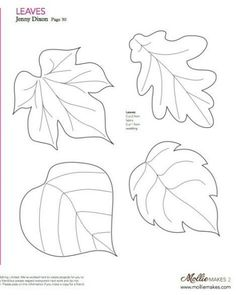 41 new Ideas for sewing patterns free printable felt ornaments Felt Crafts Patterns, Applique Patterns, Sewing Patterns Free, Felt Flower Template, Flower Svg, Giant Paper Flowers, Felt Flowers, Leaf Template Printable, Free Printable