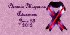 Chronic migraine awareness day