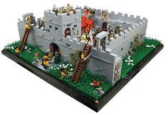 Lego Roman, Lego Burg, Lego Juniors, Lego Animals, Roman Britain, Hadrian's Wall, Star Wars Vehicles, Lego Castle, Cool Lego