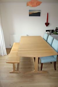 Habitat Parker Dining Table And Bench
