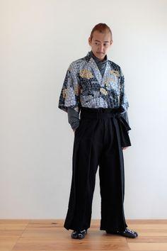 Hakama Pants Moleskin Cotton Black : SOU • SOU US Online Store