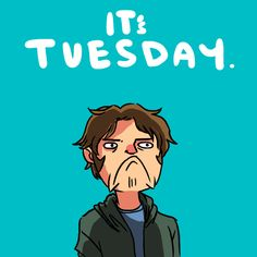 MYSTERY SPOT! Really I'm repinning because it's Sam Winchester doing the Nick Miller turtle face!