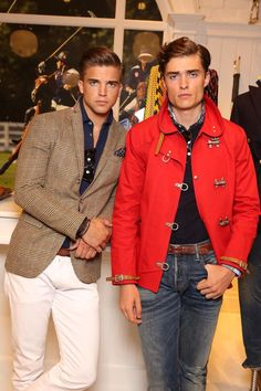 Sophisticated sensibility  Updated staples mix with iconic heritage at the  Polo Ralph Lauren Spring Men s NYFW presentation 7d23ec547c2