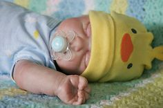 Adorable reborn baby boy doll, so realistic and lifelike!