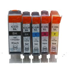 PGI-525 CLI-526 PGI-525XL PGI 525 525XL PGI525 PGI525XL Ink Cartridges For Canon Pixma IP4850 IP4950 MG5150 MX715 Inkjet Printer