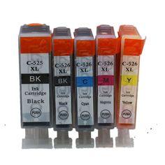 $9.59 (Buy here: https://alitems.com/g/1e8d114494ebda23ff8b16525dc3e8/?i=5&ulp=https%3A%2F%2Fwww.aliexpress.com%2Fitem%2F50-PCS-10-SETS-OF-PGI-525BK-CLI-526BK-C-M-Y-compatible-Ink-Cartridges-For%2F32352789982.html ) 5 Pack PGI-525 CLI-526 PGI 525 CLI 526 PGI525 CLI526 Ink Cartridges For Canon Pixma IP4850 IP4950 IX6550 MG5150 MG5250 Printer for just $9.59