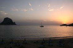 Sunset, Cala d'Hort (Ibiza)