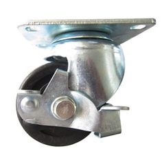"""Low profile caster wheel,with swivel plate. Material: Polyamide Size:2"""" x 28mm ; 2.5"""" x 40mm ; 3"""" x 45mm Load;80Kg~200kg Purpose:Machine caster,equipment caster wheel,tool case caster"""