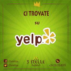 Usi #Yelp? Scrivere su nostre #recensioni di #cibo su Yelp. Siamo ora disponibili su Yelp. Mantenere noi suggerire per migliorare la nostra qualità e servizi. Clicca sull'immagine qui sotto per informazioni.  Yelp URL: http://www.yelp.it/biz/5-stelle-pizza-e-kebab-camisano-vicentino-2  #CamisanoVicentino #Cibo #Yelp #Pizza #Recensioni