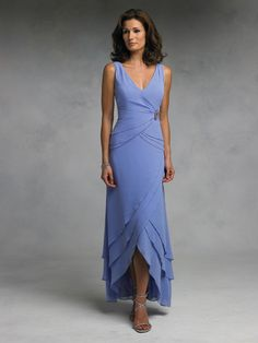 Simple enough for Mama - M630 Simple Sheath Spaghetti strap Hi Lo Fold Chiffon Mother of the Bride Dresses Custom Made-in Mother of the Bride Dresses from Apparel & Accessories on Aliexpress.com