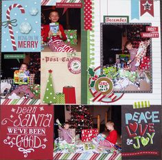Christmas Morning - Right Side - Scrapbook.com