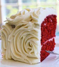 Red velvet cake can do no wrong :)